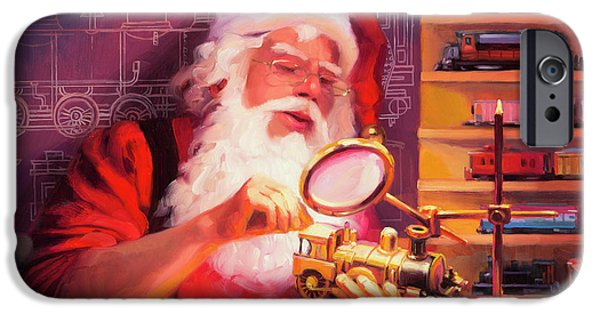 Elf iPhone 6s Case - The Trainmaster by Steve Henderson