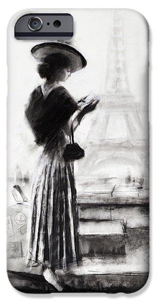 Eiffel Tower iPhone 6s Case - The Traveler by Steve Henderson