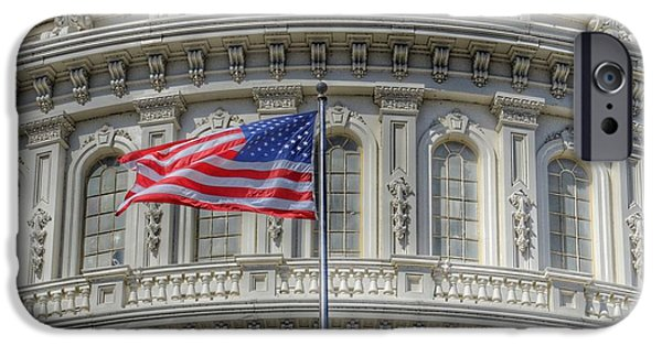 Capitol Building iPhone 6s Case - The Us Capitol Building - Washington D.c. by Marianna Mills