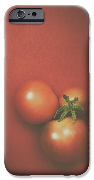 Three Cherry Tomatoes IPhone 6s Case by Scott Norris