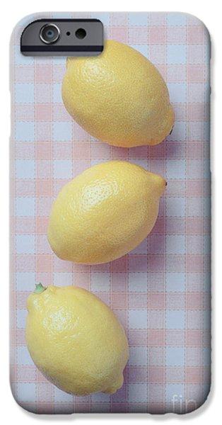 Three Lemons IPhone 6s Case by Edward Fielding