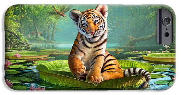 Lily iPhone 6s Case - Tiger Lily by Jerry LoFaro