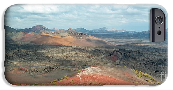 Canary iPhone 6s Case - Timanfaya Panorama by Delphimages Photo Creations