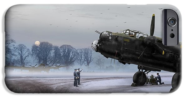 IPhone 6s Case featuring the photograph Time To Go - Lancasters On Dispersal by Gary Eason