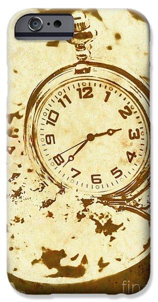 Time Worn Vintage Pocket Watch IPhone 6s Case