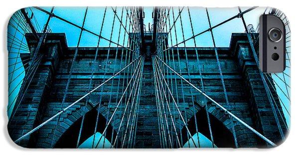 Brooklyn Bridge iPhone 6s Case - Timeless Arches by Az Jackson
