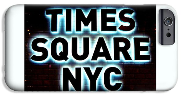 Times Square 4 IPhone 6s Case by NDM Digital Art