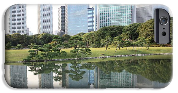 Tokyo Skyline Reflection IPhone 6s Case by Carol Groenen
