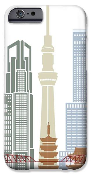 Tokyo V2 Skyline Poster IPhone 6s Case