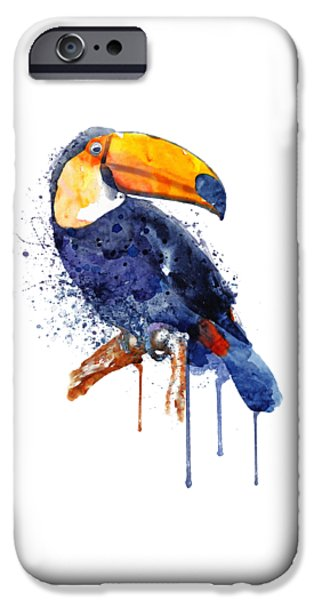 Toucan iPhone 6s Case - Toucan by Marian Voicu