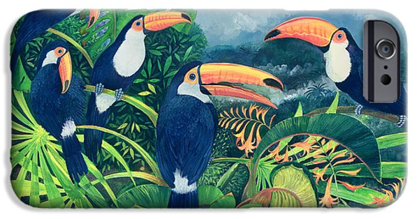 Toucan iPhone 6s Case - Toucan Talk by Lisa Graa Jensen
