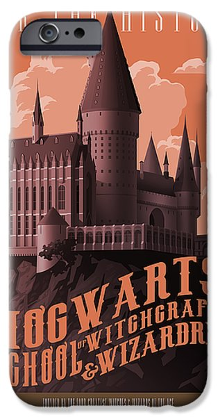 Wizard iPhone 6s Case - Tour Hogwarts Castle by Christopher Ables