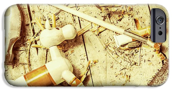 Toy Making At Santas Workshop IPhone 6s Case by Jorgo Photography - Wall Art Gallery