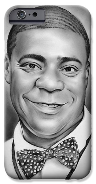 Tracy Morgan IPhone Case by Greg Joens