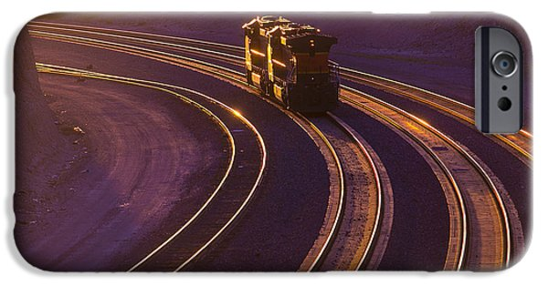 Train iPhone 6s Case - Train At Sunset by Garry Gay