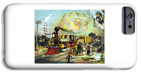 Train iPhone 6s Case - Transcontinental Railroad by War Is Hell Store
