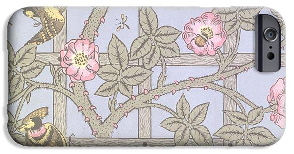 Trellis   Antique Wallpaper Design IPhone 6s Case