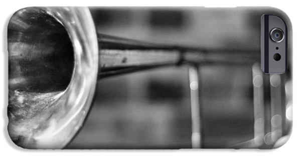 Trombone iPhone 6s Case - Trombone by David  Hubbs