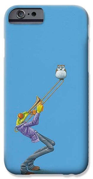 Trombone iPhone 6s Case - Trombone by Jasper Oostland