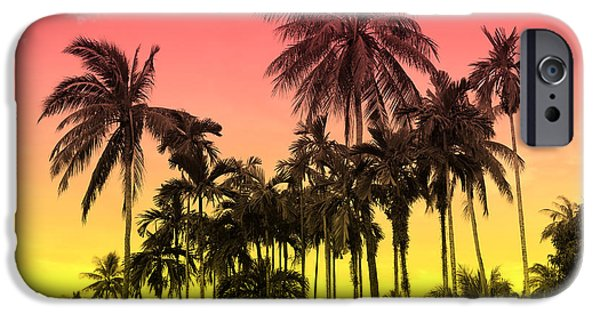 Flowers iPhone 6s Case - Tropical 9 by Mark Ashkenazi