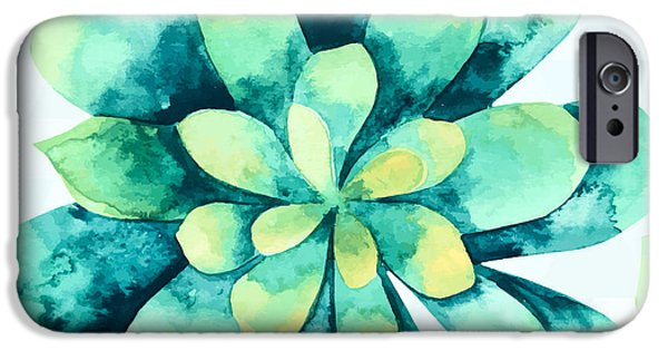 Tropical Flower  IPhone 6s Case by Mark Ashkenazi