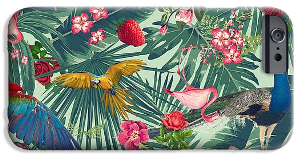 Tropical Fun Time  IPhone 6s Case by Mark Ashkenazi