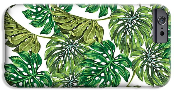 Tropical Haven  IPhone 6s Case by Mark Ashkenazi
