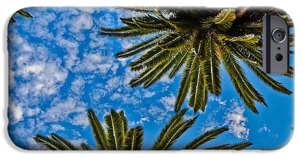 New Leaf iPhone 6s Case - Tropical Skies by Az Jackson