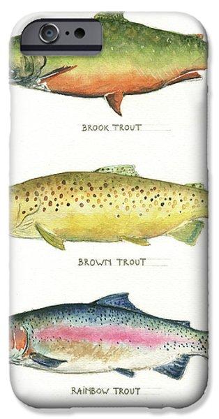 Trout Species IPhone 6s Case by Juan Bosco