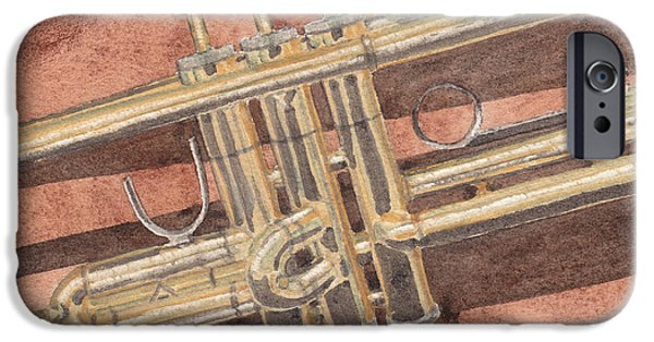 Trumpet IPhone 6s Case by Ken Powers