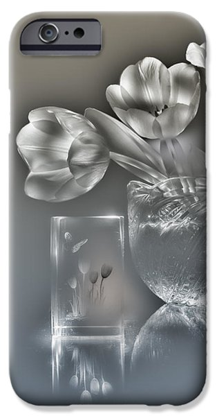 Tulips, Silver Variant IPhone 6s Case