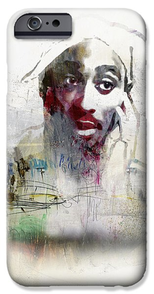 Tupac Graffitti 2656 IPhone 6s Case by Jani Heinonen