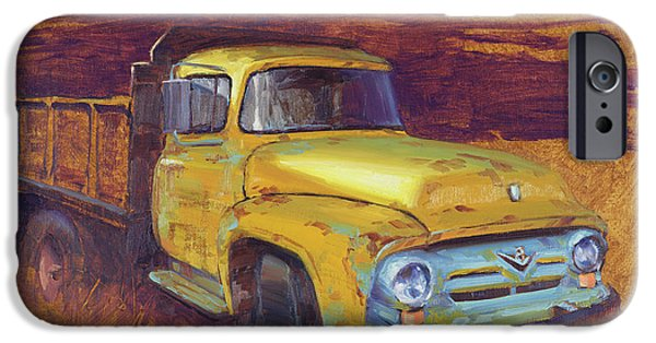 Truck iPhone 6s Case - Turning Into The Light by Cody DeLong