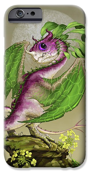 Cricket iPhone 6s Case - Turnip Dragon by Stanley Morrison