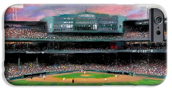 Baseball iPhone 6s Case - Twilight At Fenway Park by Jack Skinner