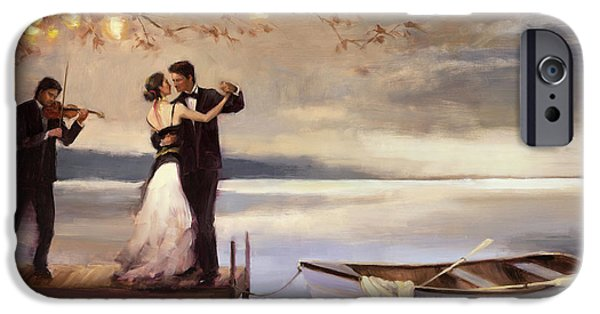 Impressionism iPhone 6s Case - Twilight Romance by Steve Henderson