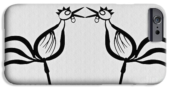 Two Crowing Roosters  IPhone 6s Case