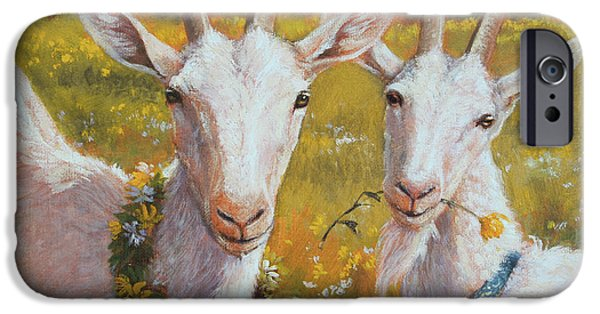 Two Goats Of Summer IPhone 6s Case by Tracie Thompson