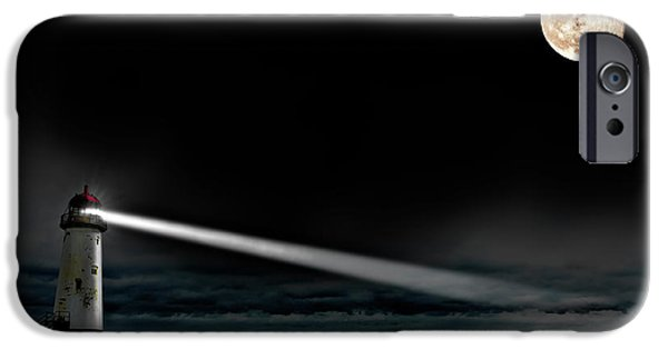 Two Guiding Lights IPhone Case by Meirion Matthias