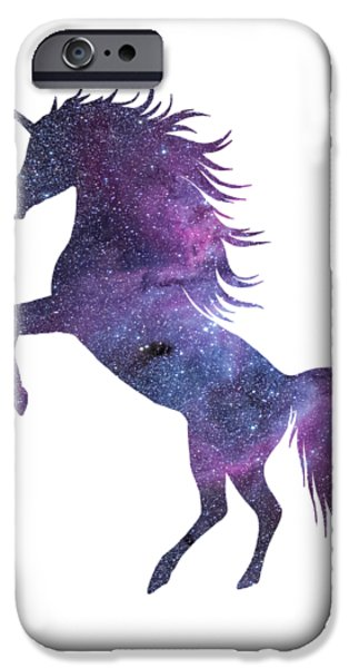 Unicorn In Space-transparent Background IPhone 6s Case by Jacob Kuch