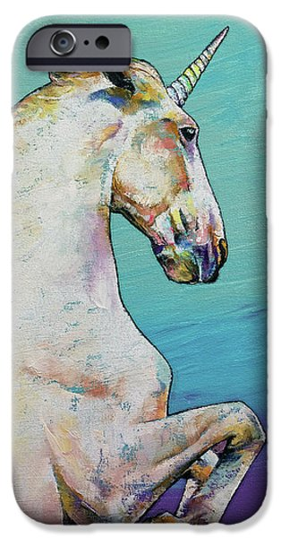 Unicorn IPhone 6s Case by Michael Creese