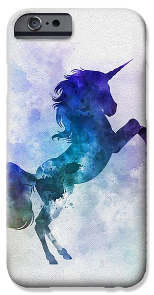 Unicorn IPhone 6s Case by Rebecca Jenkins