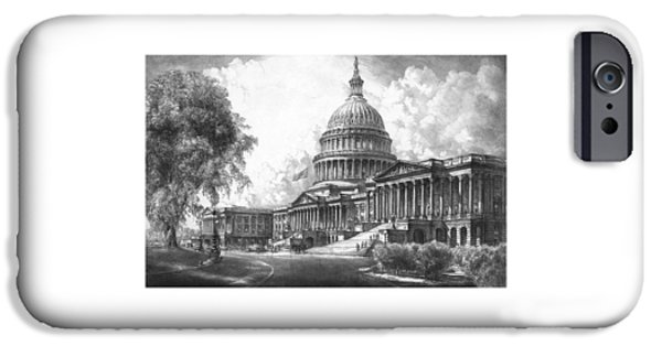 Capitol Building iPhone 6s Case - United States Capitol Building by War Is Hell Store