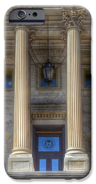 Capitol Building iPhone 6s Case - United States Capitol - House Of Representatives  by Marianna Mills