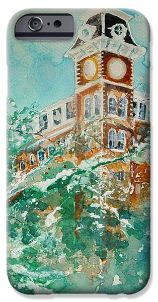 Ice On Old Main IPhone 6s Case by Robin Miller-Bookhout