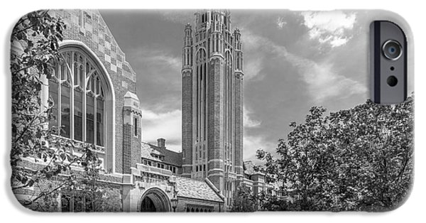 University Of Chicago Saieh Hall For Economics IPhone 6s Case by University Icons