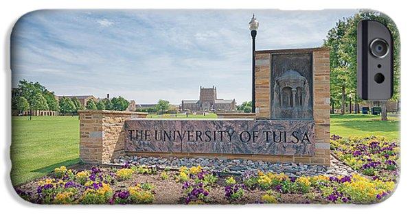 University Of Tulsa Mcfarlin Library IPhone 6s Case by Roberta Peake