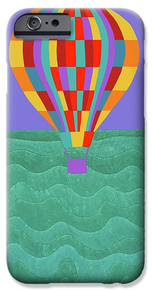 iPhone 6s Case - Up Up And Away by Synthia SAINT JAMES