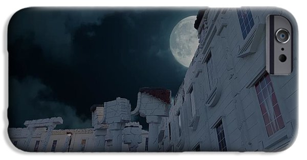 Whitehouse iPhone 6s Case - Upside Down White House At Night by Art Spectrum