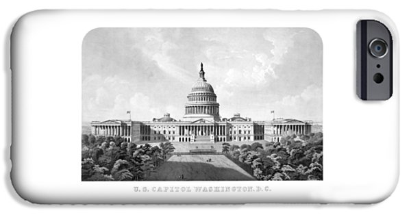 Capitol Building iPhone 6s Case - Us Capitol Building - Washington Dc by War Is Hell Store